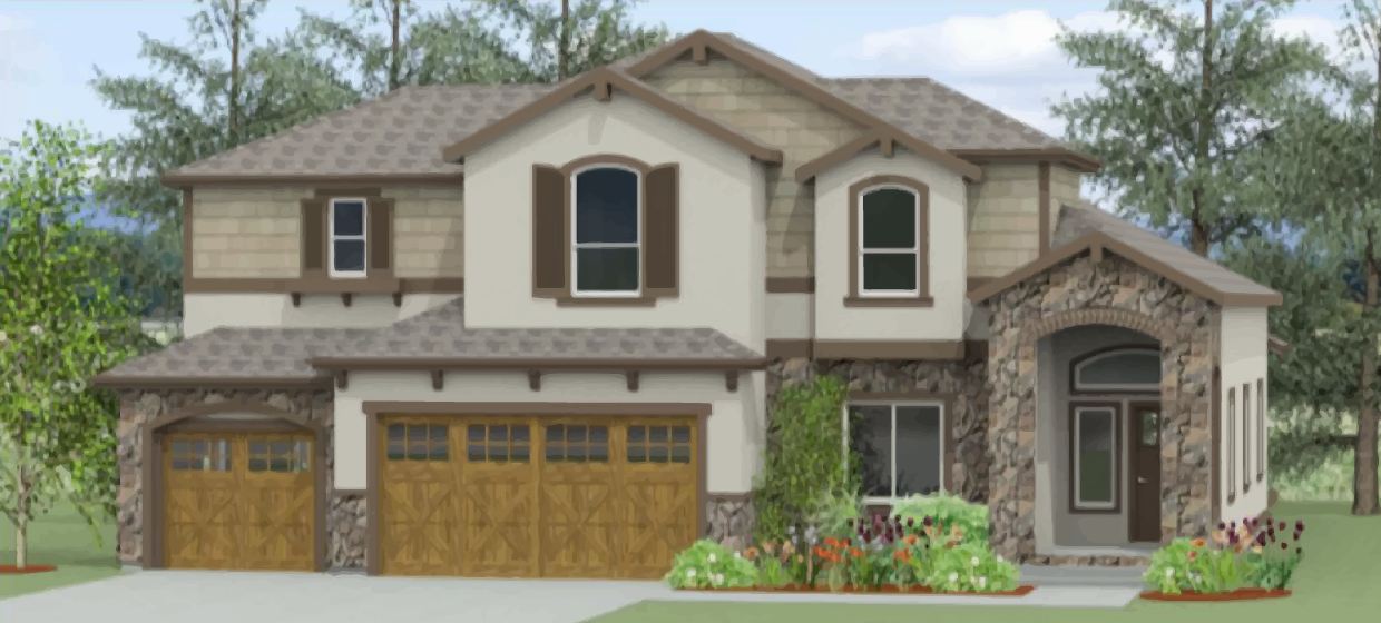 Eisenhower Floor Plan in Star Ranch, Colorado Springs from home builder Tralon Homes